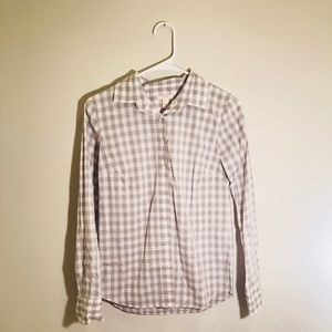 J. Crew Bingham Plaid Button Up Shirt